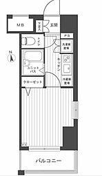 THEパームス東武練馬[8階]の間取り