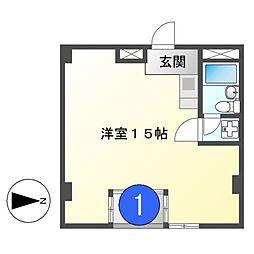 フィールドシティ新栄1[2階]の間取り