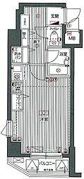 東京都豊島区雑司が谷2丁目の賃貸マンションの間取り