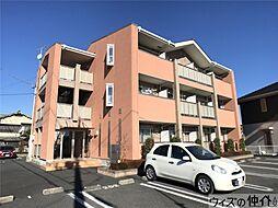 群馬県高崎市飯塚町の賃貸マンションの外観