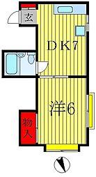 有田[2階]の間取り