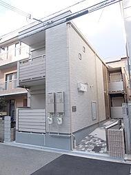 大阪府大阪市阿倍野区昭和町2丁目の賃貸アパートの外観