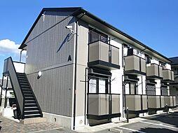 大阪府羽曳野市誉田1丁目の賃貸アパートの外観