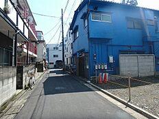前面道路(北方向)