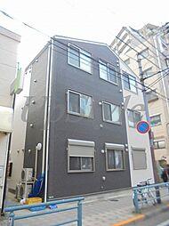 東京都足立区梅田6の賃貸アパートの外観