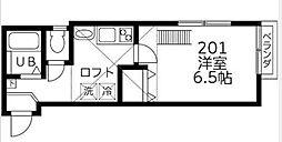 DSコート・21[201号室]の間取り