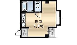 AB67[5階]の間取り