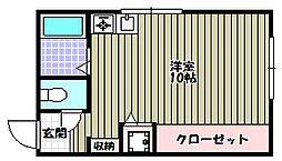 Eris大野[2階]の間取り