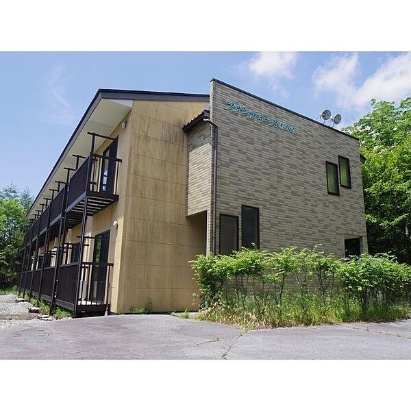 フォンテーヌ軽井沢[1階]の外観