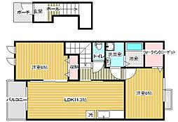 マーガレットハウス[2階]の間取り