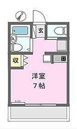 Wing戸塚II[1階]の間取り