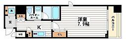 カスタリア堺筋本町[9階]の間取り