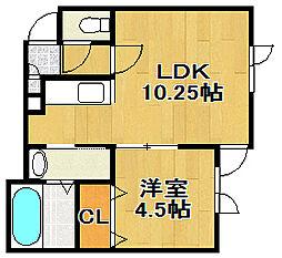 AqrisII[2階]の間取り