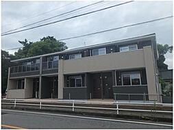 愛知県知立市上重原町小針の賃貸アパートの外観
