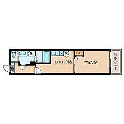 仮称)足立区千住東1丁目共同住宅[2階]の間取り