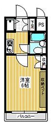 ワコーレ町田[0306号室]の間取り