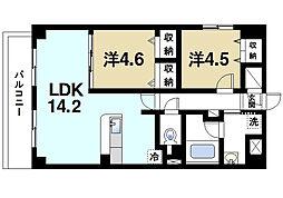 ミリオンコンフォート小泉駅前[3階]の間取り