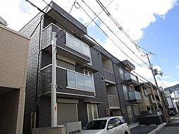 兵庫県西宮市石刎町の賃貸アパートの外観