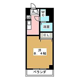 オネスト吉塚[7階]の間取り