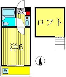 フジパレス(ジュネパレス松戸第66)[2階]の間取り