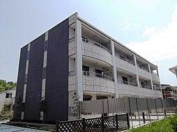 愛知県名古屋市名東区高針荒田の賃貸マンションの外観