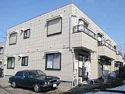 千葉県柏市豊上町の賃貸アパートの外観