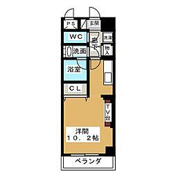 ノヴェル新栄[11階]の間取り