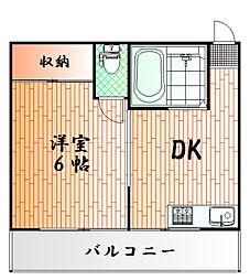 神奈川県横浜市南区花之木町2丁目の賃貸マンションの間取り
