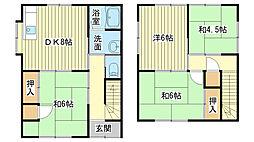 [一戸建] 兵庫県姫路市白浜町 の賃貸【/】の間取り