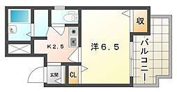 マイトレーヤ・ハイツ[2階]の間取り