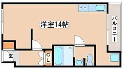 兵庫県明石市新明町の賃貸マンションの間取り