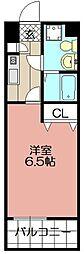 ラセット博多[702号室]の間取り