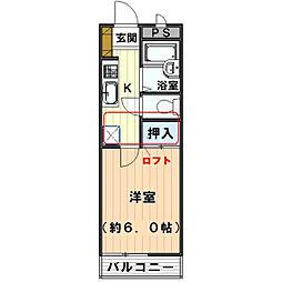 クレイモアY2[2階]の間取り