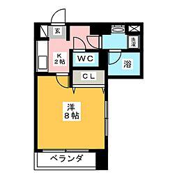 will Do上杉三丁目[5階]の間取り