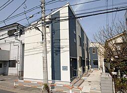 東京都足立区入谷7丁目の賃貸アパートの外観