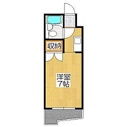 小倉マンション[2階]の間取り