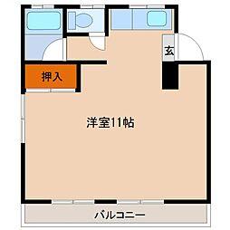 柳コーポ[201号室・301号室号室]の間取り