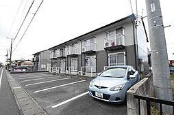 群馬県高崎市中居町1丁目の賃貸アパートの外観