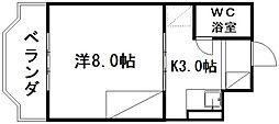 ランカン天竜川[3階]の間取り