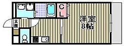 アムール高松東[2階]の間取り