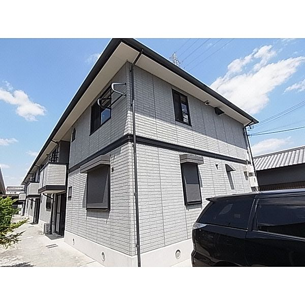 奈良県大和高田市神楽3丁目の賃貸アパートの外観