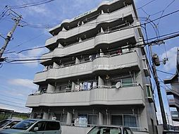 岡山県岡山市北区富原の賃貸マンションの外観