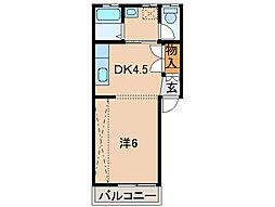 アーバンハウス[2階]の間取り