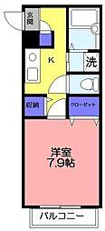 メゾンT・M[201号室]の間取り