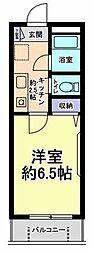 グリーンハイム齊藤[1階]の間取り