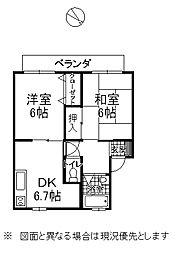 下諏訪町西高木[2階]の間取り