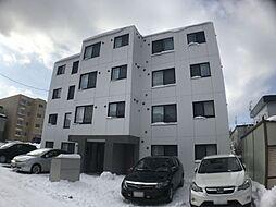 北海道札幌市西区発寒三条3丁目の賃貸マンションの外観
