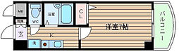 ノルデンハイムリバーサイド天神橋[5階]の間取り