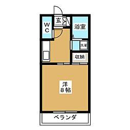 パークサイドII[2階]の間取り