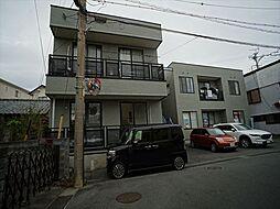 静岡県浜松市中区広沢1丁目の賃貸アパートの外観